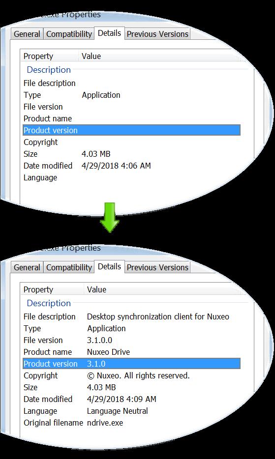 PyInstaller, Windows et les propriétés de l'exécutable